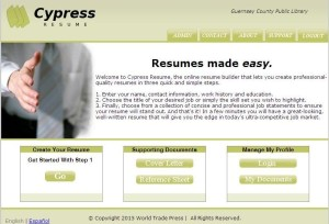 cypress resume guernsey county library